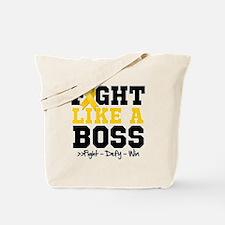 Childhood Cancer Fight Tote Bag