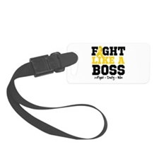 Childhood Cancer Fight Luggage Tag