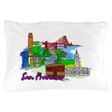 San Francisco - California - USA Pillow Case