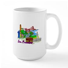 San Francisco - California - USA Mugs