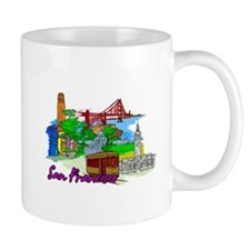 San Francisco - California - USA Mugs