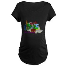 San Francisco - California - USA Maternity T-Shirt