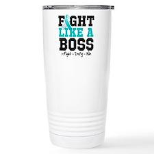 Cervical Cancer Fight Travel Mug