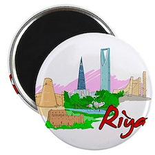 Riyadh - Saudi Arabia Magnets