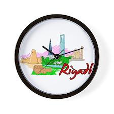 Riyadh - Saudi Arabia Wall Clock