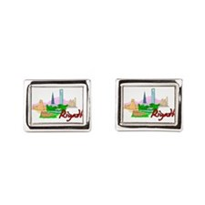 Riyadh - Saudi Arabia Rectangular Cufflinks