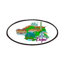 Taipei - Taiwan Patches