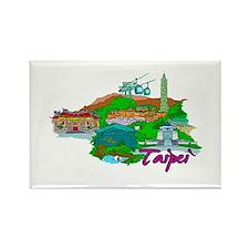 Taipei - Taiwan Magnets