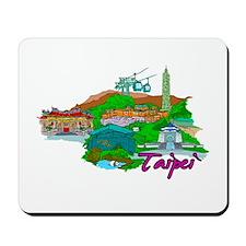 Taipei - Taiwan Mousepad