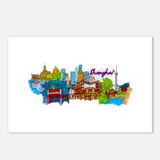 Shanghai - China Postcards (Package of 8)
