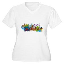 Shanghai - China Plus Size T-Shirt