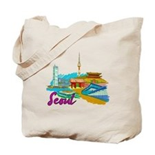 Seoul - South Korea Tote Bag