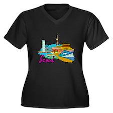 Seoul - South Korea Plus Size T-Shirt