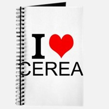I Love Cereal Journal