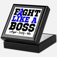 Anal Cancer Fight Keepsake Box
