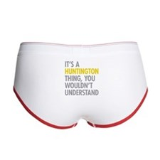 Its A Huntington Thing Women's Boy Brief