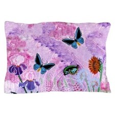 Birdwing On African Lily Pillow Case