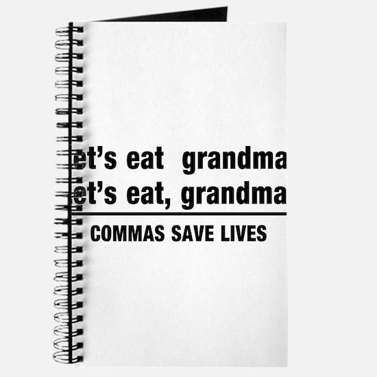 lets eat grandma Journal