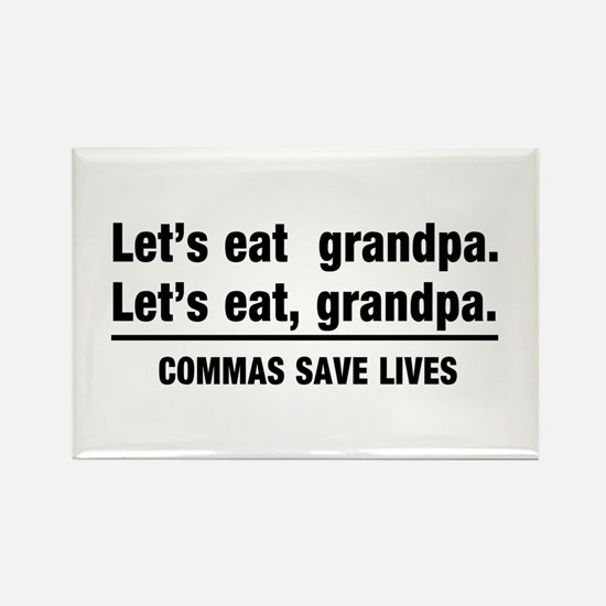 lets eat grandpa Magnets