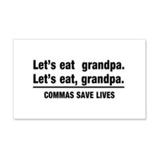 lets eat grandpa Wall Decal