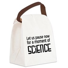 Moment of science Canvas Lunch Bag