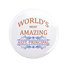 """Asst. Principal 3.5"""" Button"""