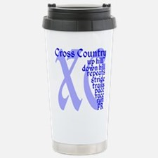 Funny Sports xc Travel Mug