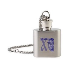 Cute Sports xc Flask Necklace