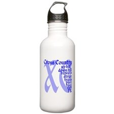 Cute Cross country runner Water Bottle
