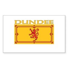 Dundee, Scotland Rectangle Decal