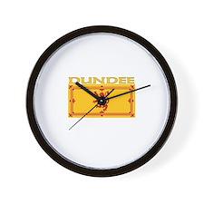 Dundee, Scotland Wall Clock