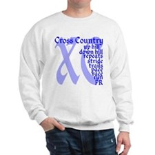 Cute Cross country runner Sweatshirt