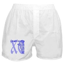 Cool Cross country running Boxer Shorts