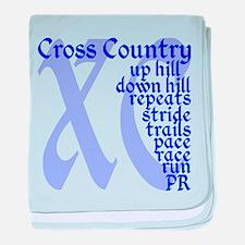 Cute Cross country baby blanket