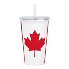 canadian-flag_b.png Acrylic Double-wall Tumbler