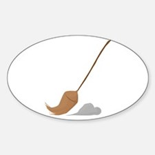 Broom Sweep Decal