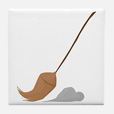 Broom Sweep Tile Coaster
