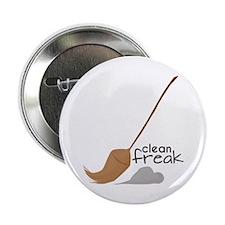 "Clean Freak 2.25"" Button"