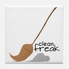 Clean Freak Tile Coaster
