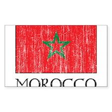 Morocco Flag Decal