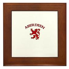 Aberdeen, Scotland Framed Tile