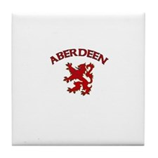 Aberdeen, Scotland Tile Coaster