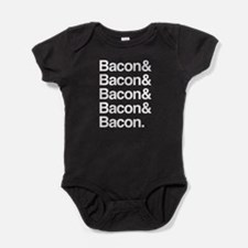 Bacon and bacon Baby Bodysuit