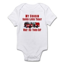 Cousin-What Did Yours Do? Onesie