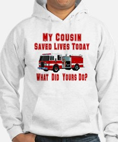 Cousin-What Did Yours Do? Hoodie