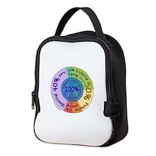 Cute Graph Neoprene Lunch Bag