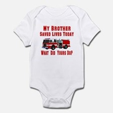 Brother-What Did Yours Do? Infant Bodysuit