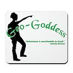 Geo-Goddess Mousepad