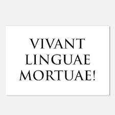 long live dead languages Postcards (Package of 8)