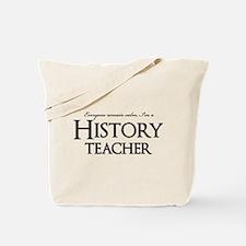 Remain Calm, Im A History Teacher Tote Bag